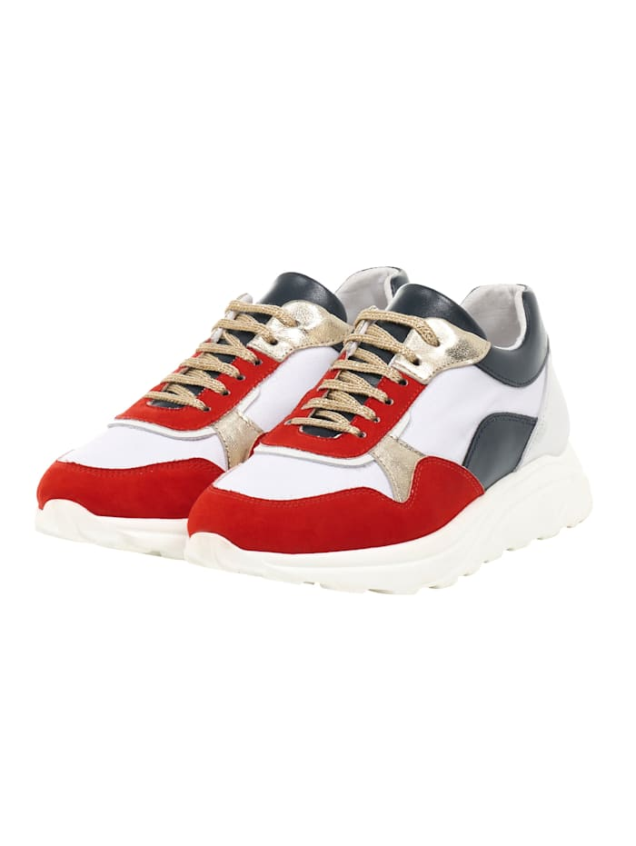 REKEN MAAR Sneaker, Rot
