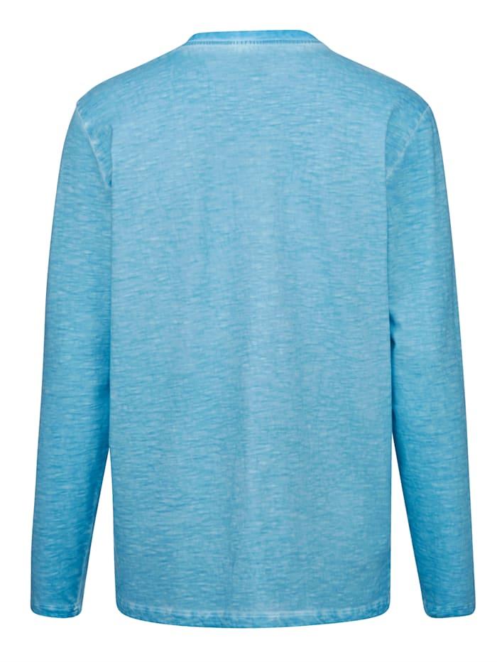 Henleyshirt oily dye