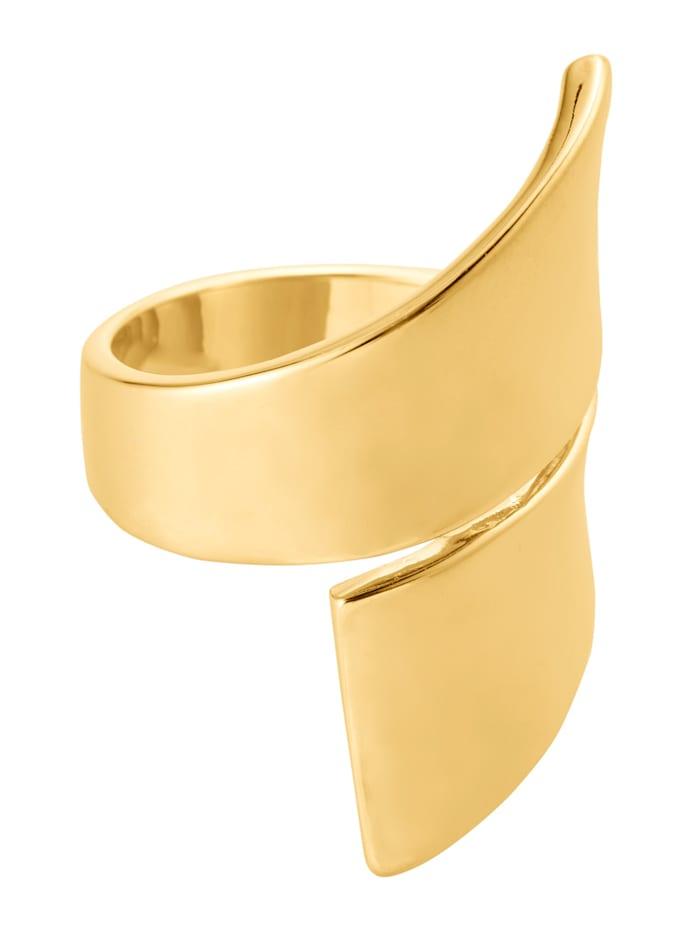 KALAIKA Ring, Gelbgoldfarben