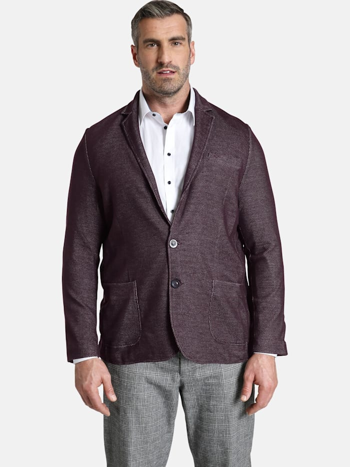 Charles Colby Charles Colby Jersey-Sakko SIR ALFIE, dunkelrot