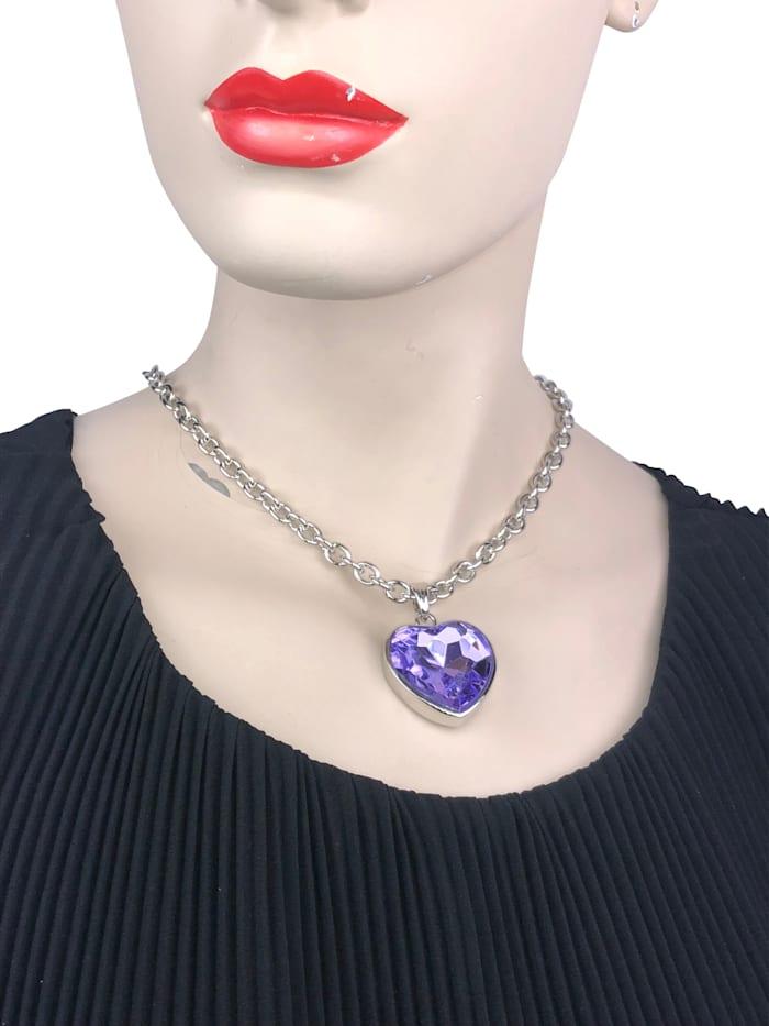 Trachtenkette Rosalind mit Herzanhänger