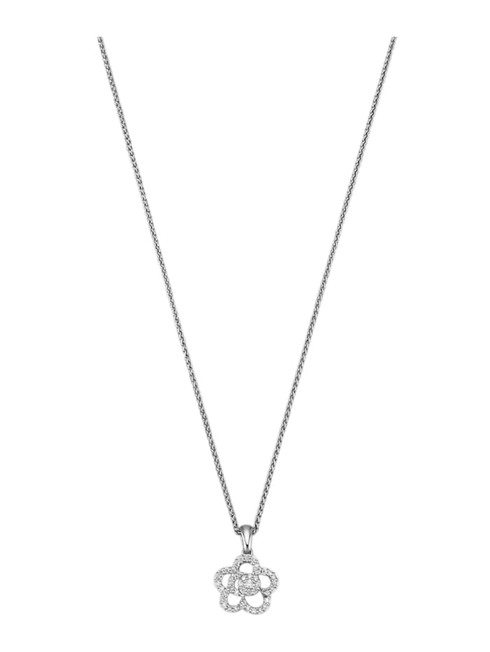 Diemer Diamant Anhänger mit 43 Brillanten, Weiß