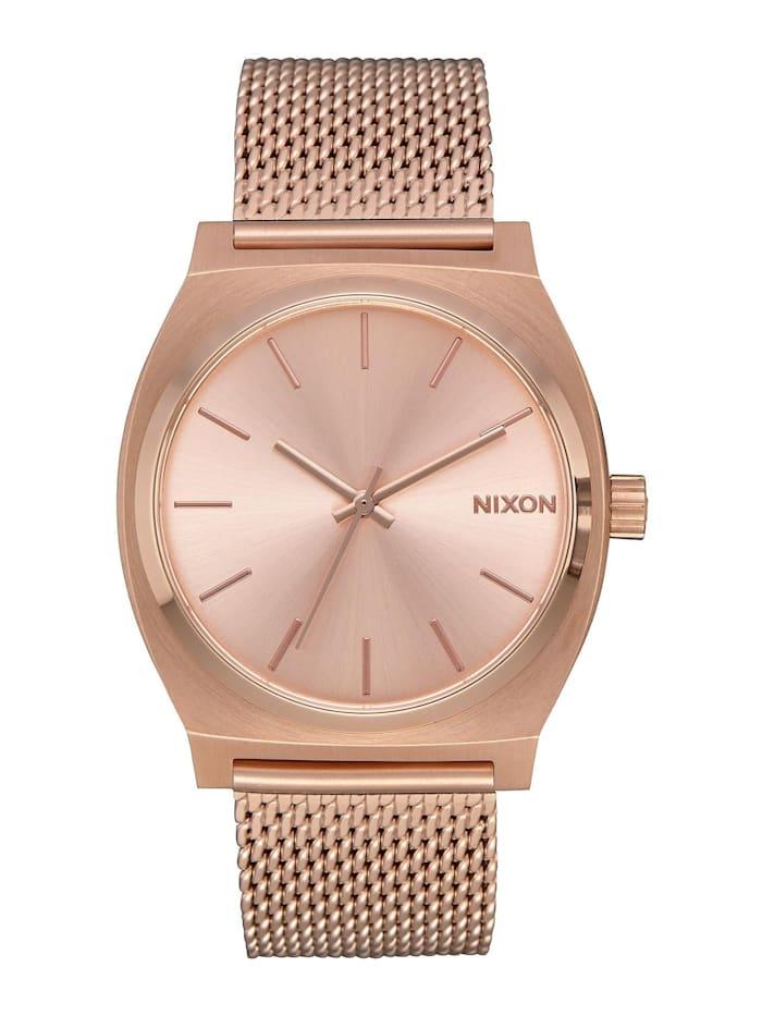 Nixon Nixon Damen-Uhren Analog Quarz, rosé