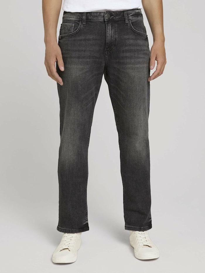 Tom Tailor Marvin Straight Jeans, dark stone wash denim