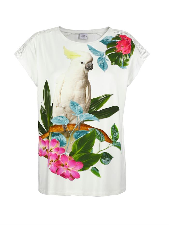 Shirt mit farbenfrohem Druck