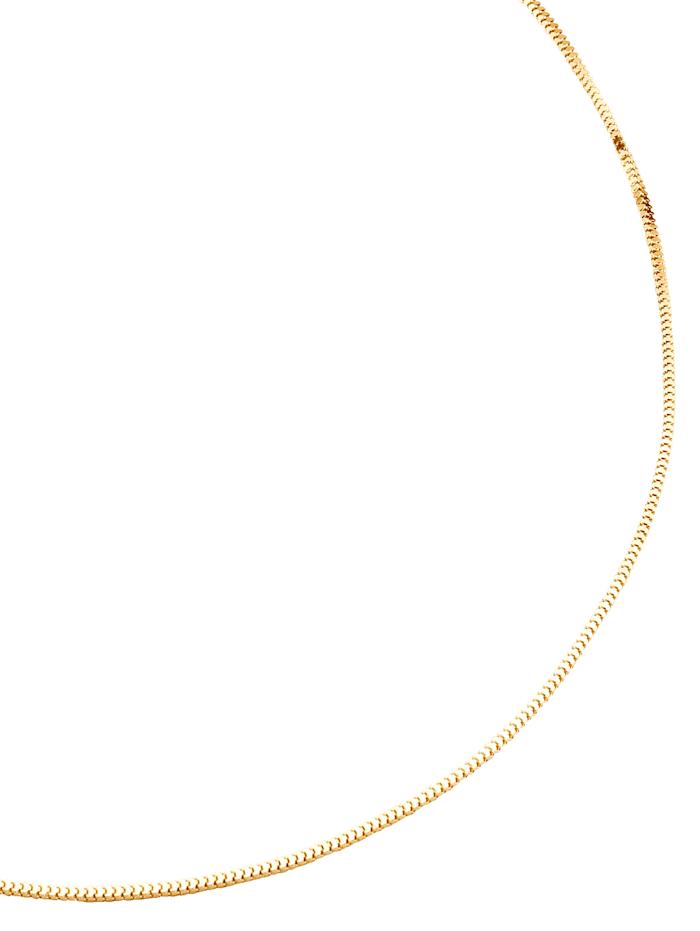 Chaîne serpent, Coloris or jaune
