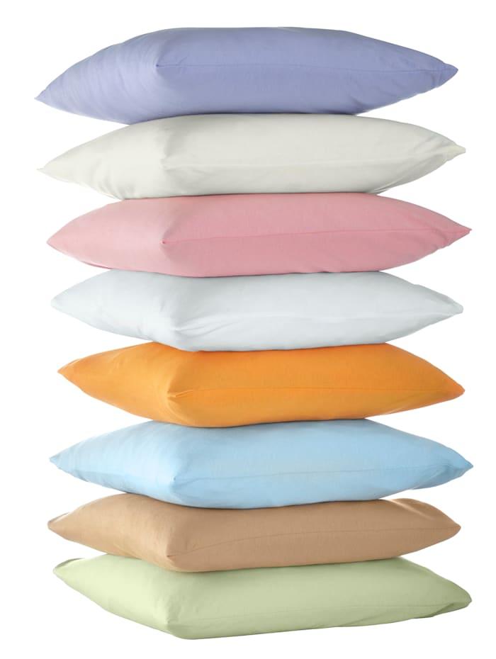 Webschatz Lot de 2 oreillers coton 'basiques', Bleu