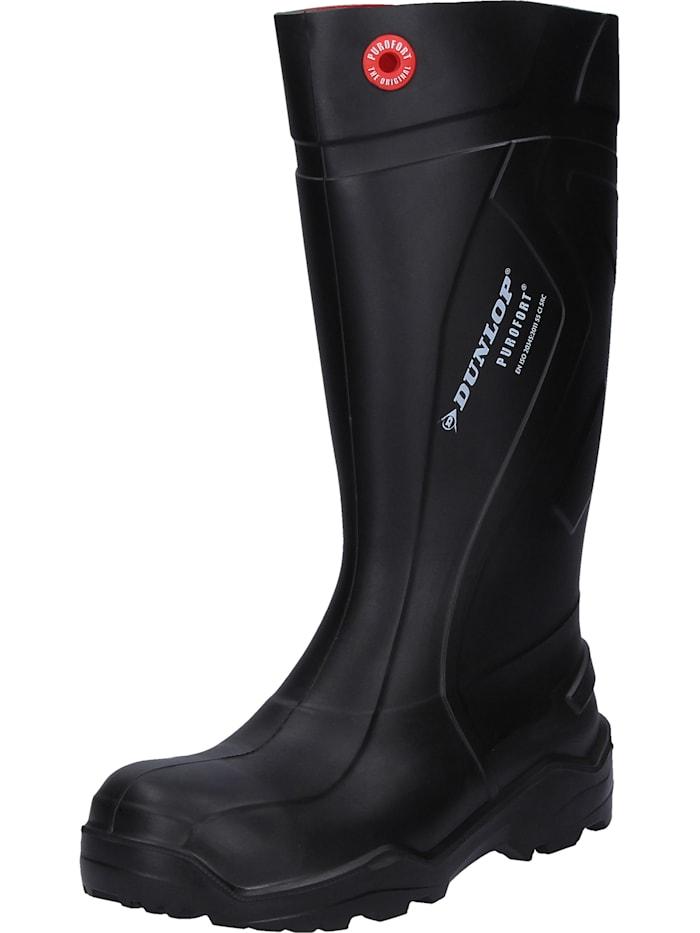 Dunlop Sicherheitsstiefel Purofort+, schwarz