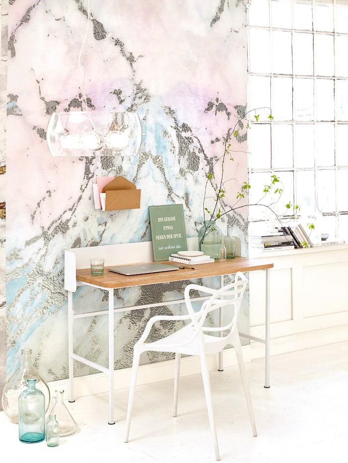 IMPRESSIONEN living Schreibtisch, weiß, natur