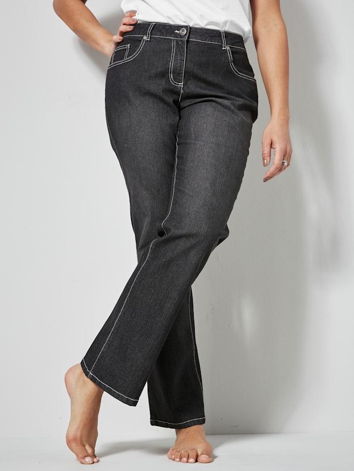 Dollywood Jeans PAULA Straight Cut, Schwarz