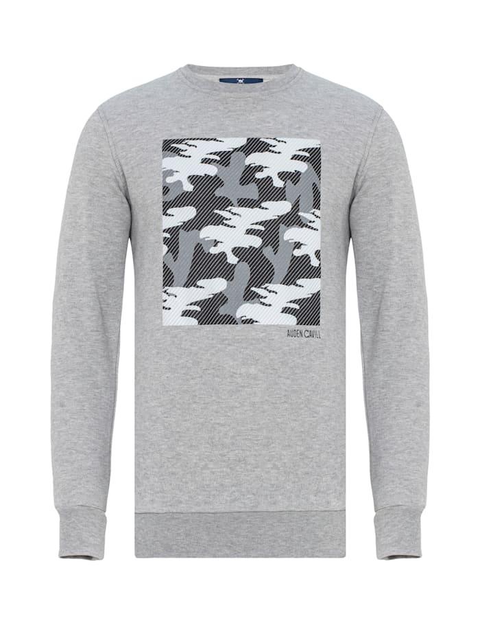 Auden Cavill Sweatshirt Camber mit Tarnmuster, Grau