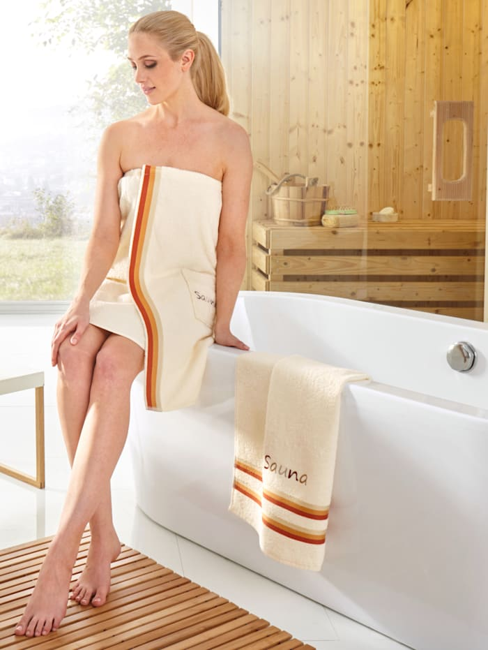 Série de serviettes sauna