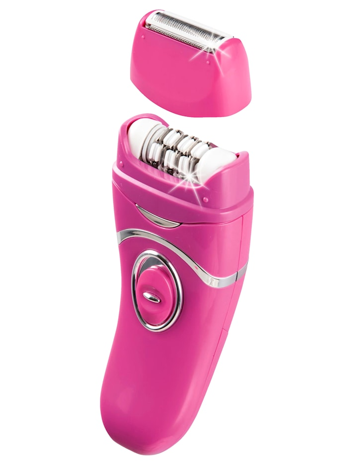 "HSP Hanseshopping Epilaattori/Lady shaver ""Epiltwist Premium"", roosa"