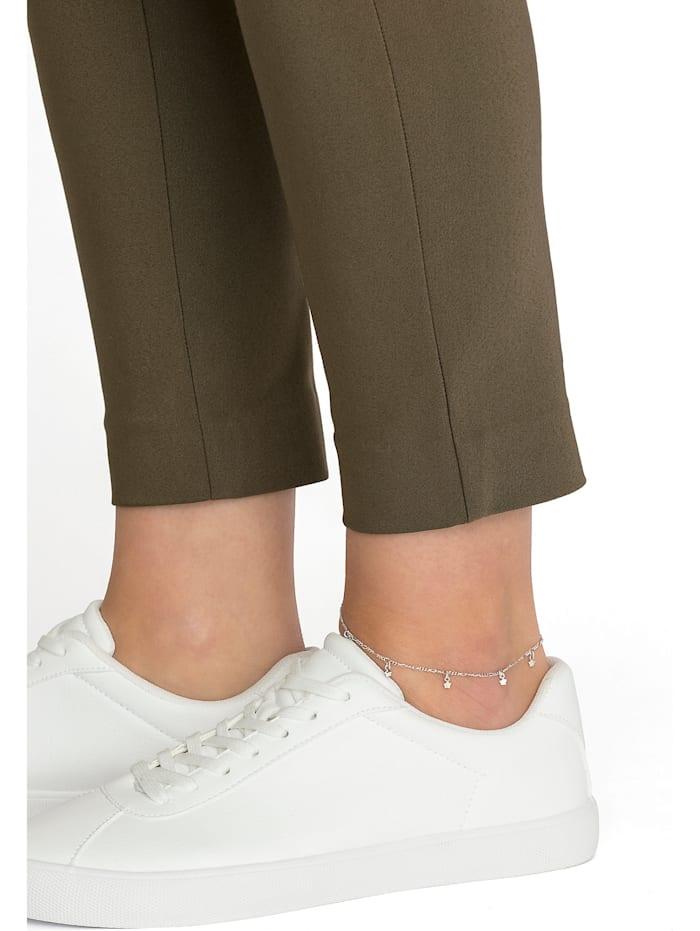 FAVS Damen-Fußkette STERN 925er Silber rhodiniert