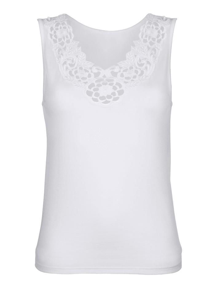 Speidel Blazershirt mit schmückendem Stickereimotiv, weiß