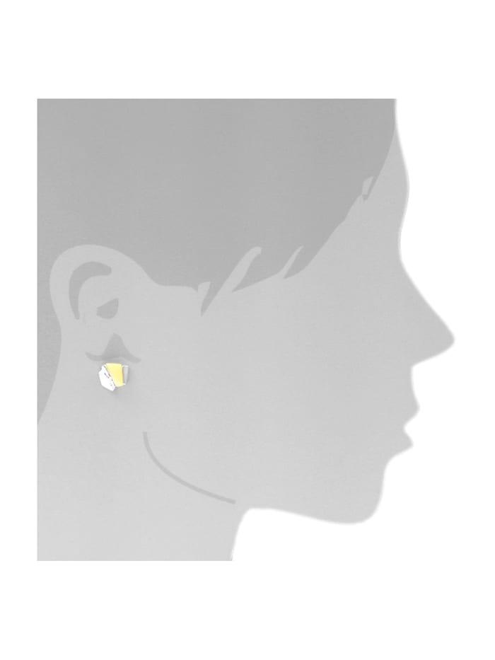 Ohrstecker - Mette - Silber 925/000 - Bernstein
