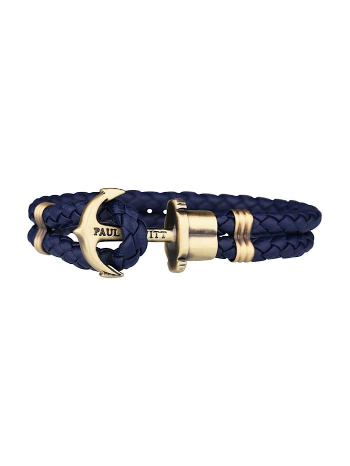 Paul Hewitt Paul Hewitt Armband, blau/gold