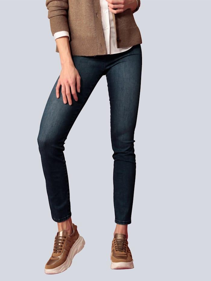 """Raphaela by BRAX Jeans """"Lea N"""" mit rückwärtigem Schlitz, Blue stone"""