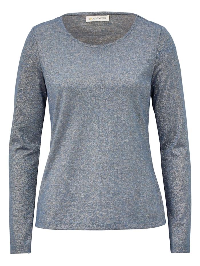 ROCKGEWITTER Langarmshirt, Silberfarben