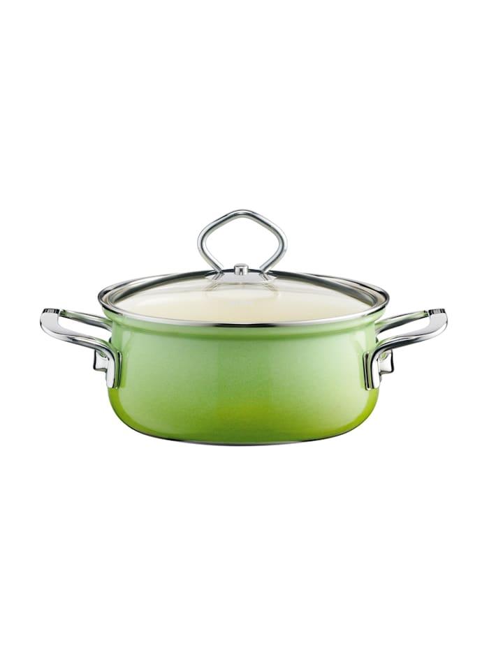 Riess Kasserolle mit Glasdeckel Smaragd, Grün