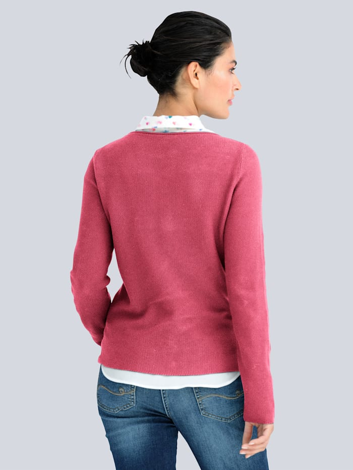 Pullover aus Pima Cotton