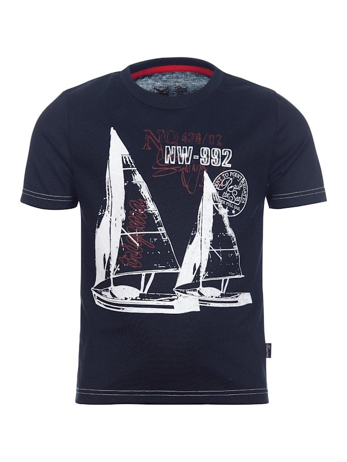 Jungen Rundhalsshirt Sailing