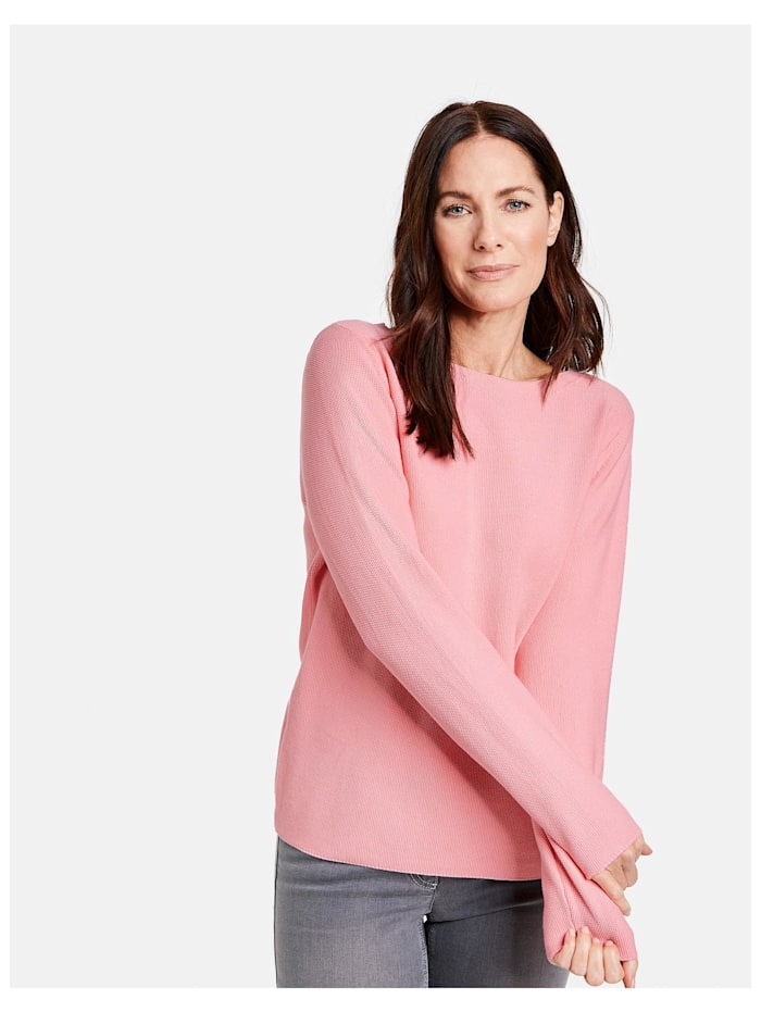 Gerry Weber Pullover organic cotton, Candied