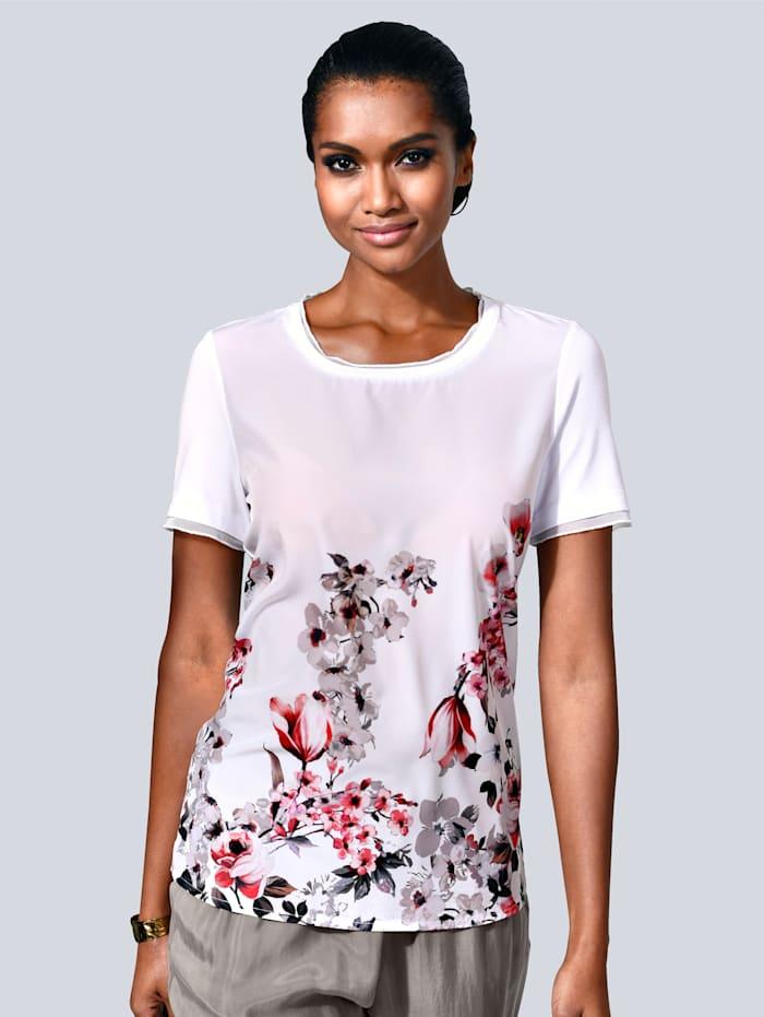 Shirt mit wunderschönen Blüten