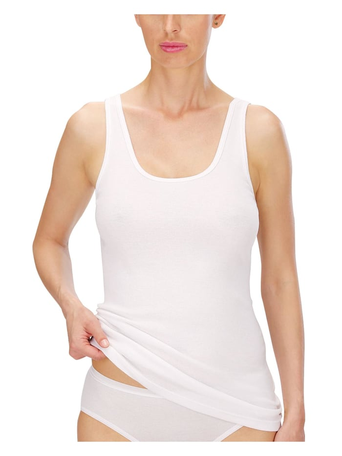 4er Sparpack Damen Unterhemd