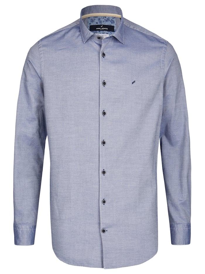 Daniel Hechter Hemd mit angesagtem Struktur-Muster, navy