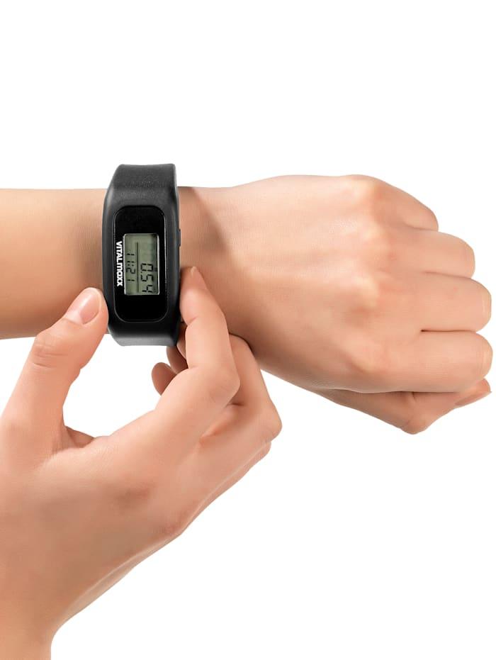 Bracelet fitness avec bracelet en silicone réglable