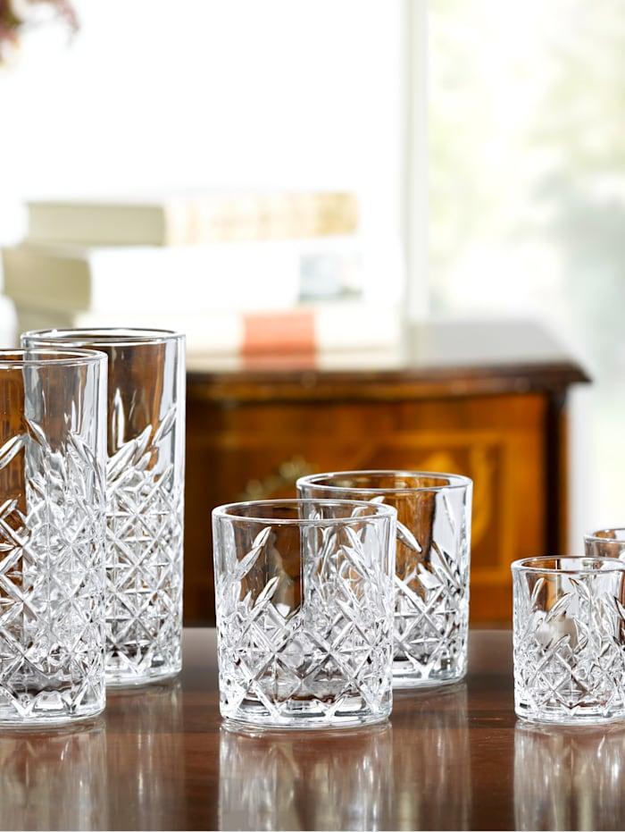 12-delige set glazen Timeless