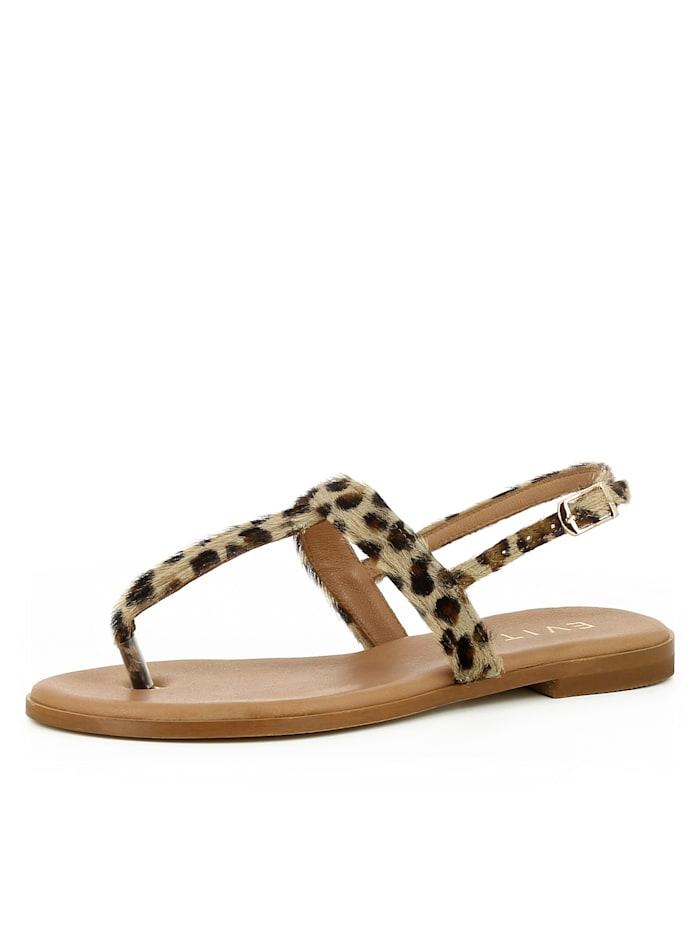 EVITA Damen Sandale OLIMPIA, leopard