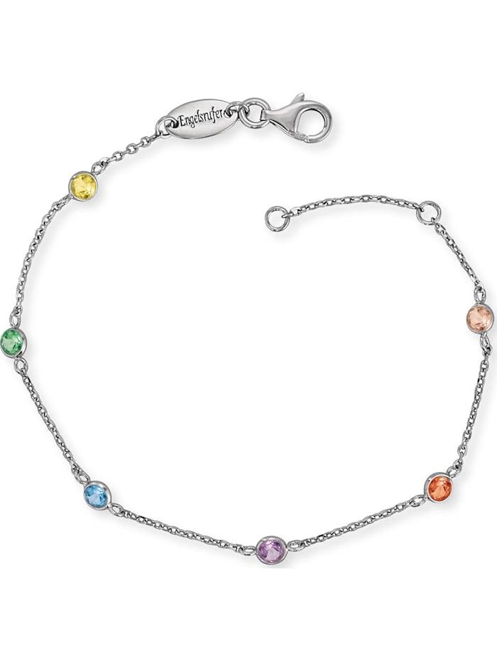 Engelsrufer Engelsrufer Damen-Armband 925er Silber Zirkonia, silber