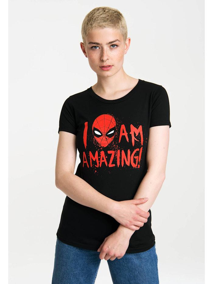 Print T-Shirt Marvel Comics mit lizenzierten Originaldesign