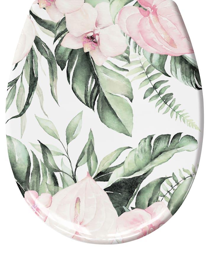 Kleine Wolke Toiletbril Garden, Multicolor
