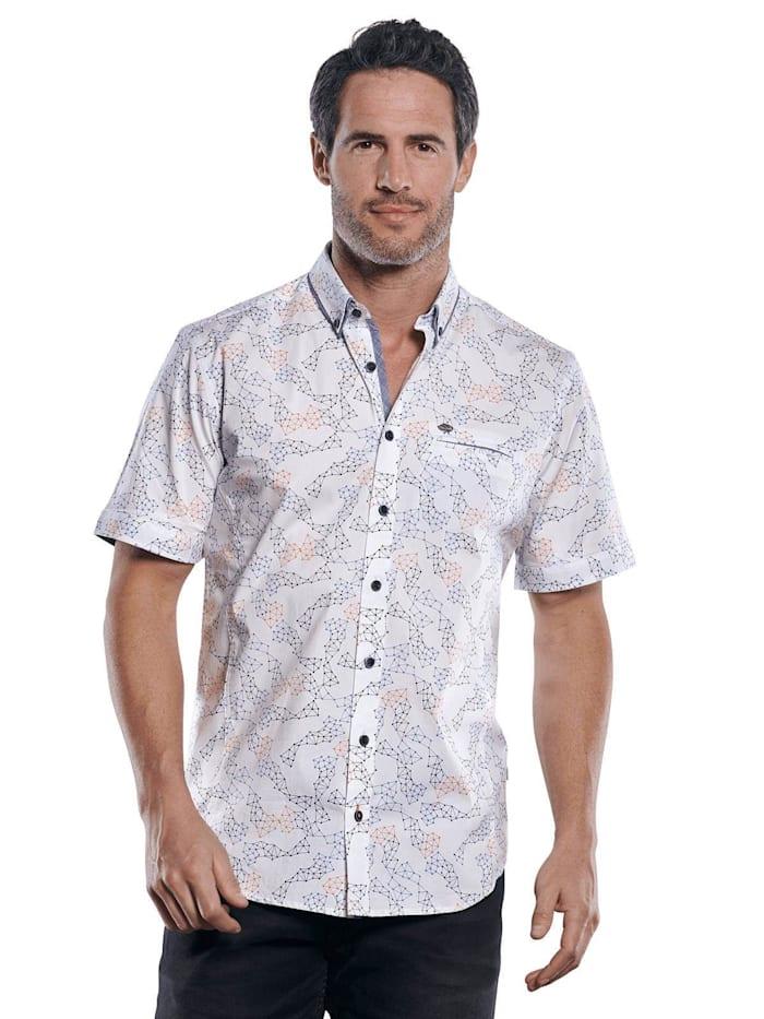 Engbers Cooles Hemd mit Comfort-Stretch-Anteil, Mandarinorange