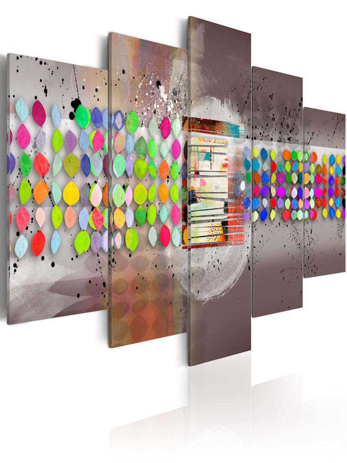artgeist Wandbild Abstract (gepunktet), mehrfarbig