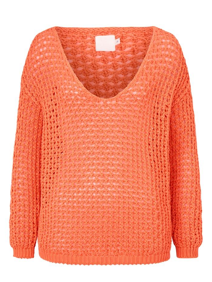 REKEN MAAR Pullover, Orange