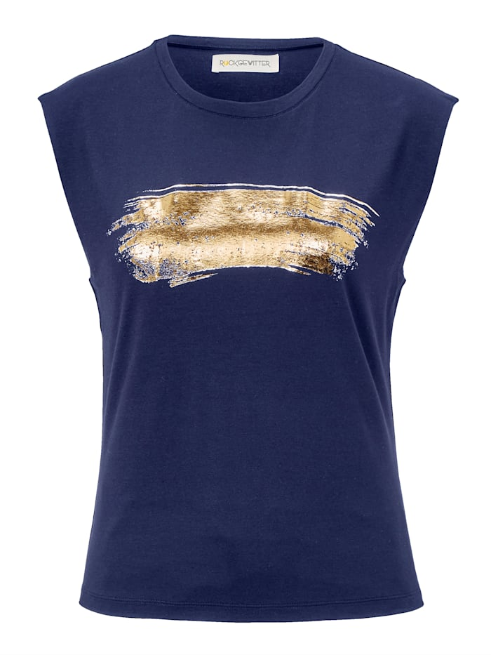 ROCKGEWITTER Shirt, Blau