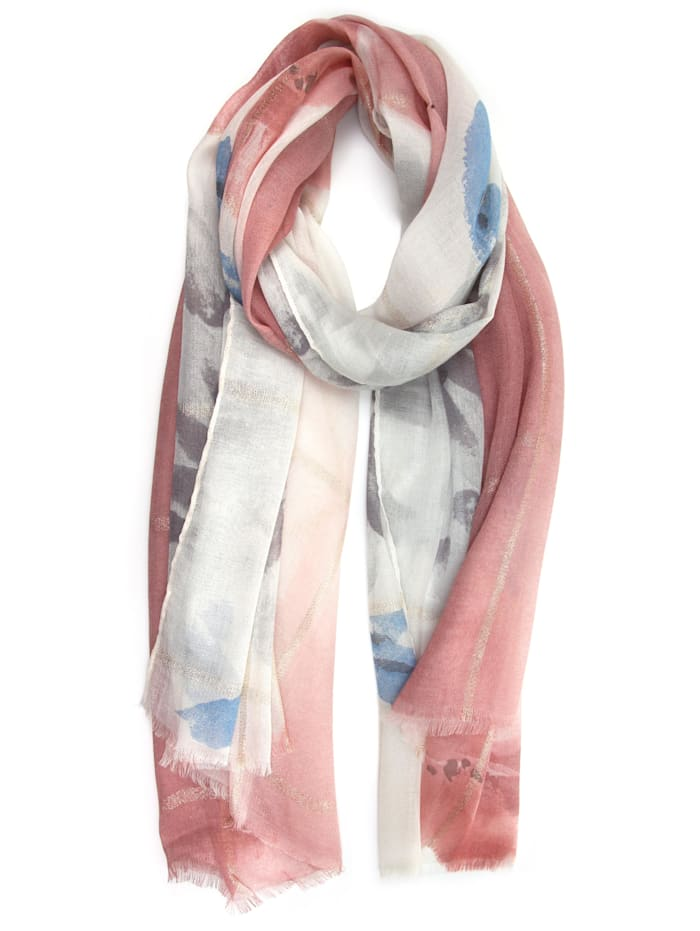 Collezione Alessandro Schal Padma mit floralem Muster, rose