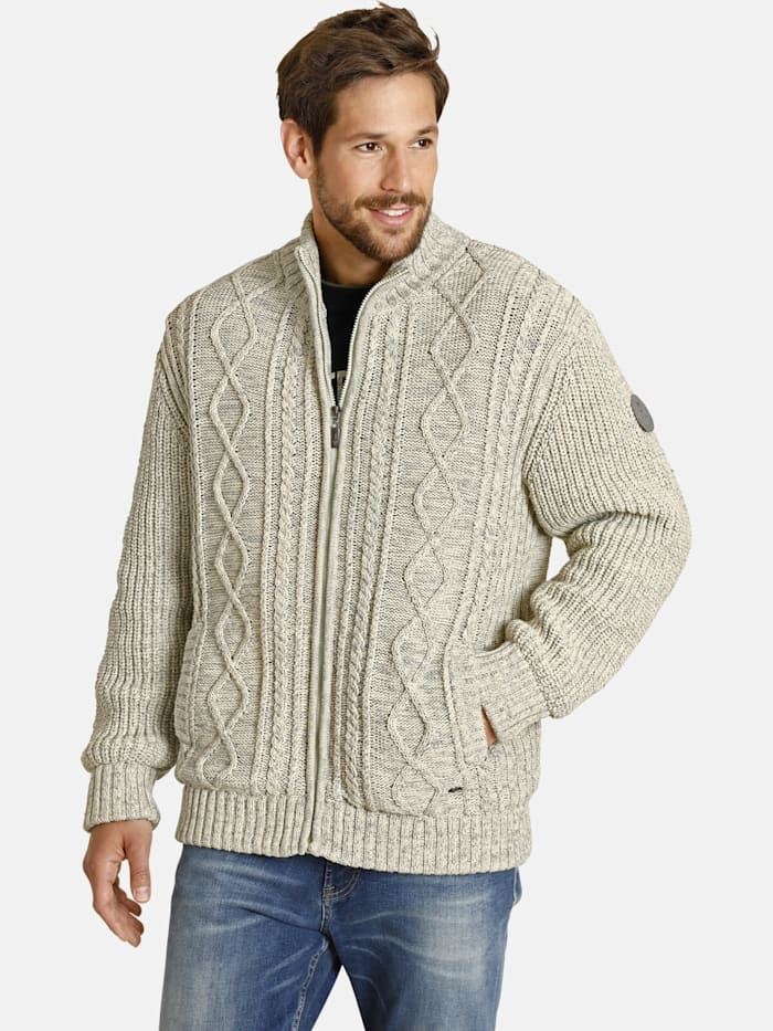 Jan Vanderstorm Outdoor Strickjacke SILVIO