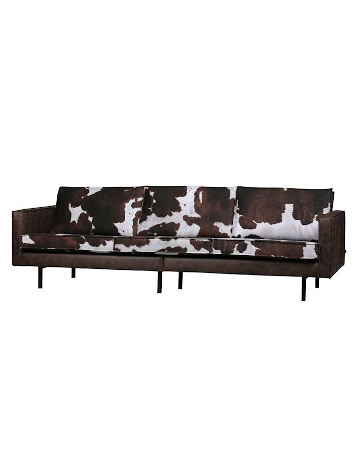 BePureHome Sofa, braun, weiß, schwarz