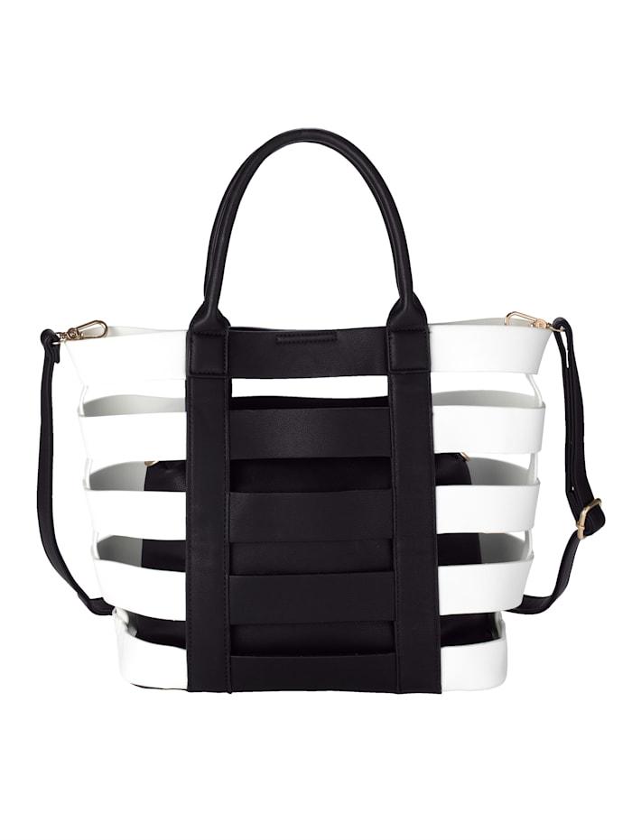 2-tlg. Handtaschenset aus hochwertigem Softmaterial 2-teilig