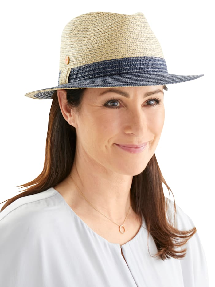 Mayser Chapeau Sally style borsalino, Beige