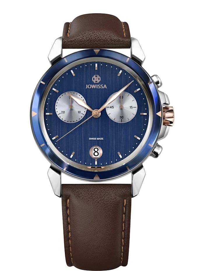 Jowissa Quarzuhr LeWy 6 Swiss Men's Watch, blau