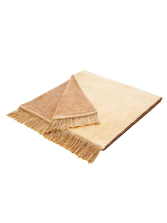 biederlack Schoner-Serie 'Cover Cotton', Beige