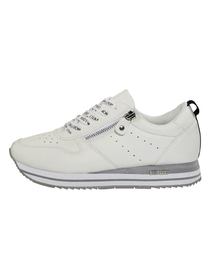 Sneakers à plateau avec semelle de marche en EVA très légère