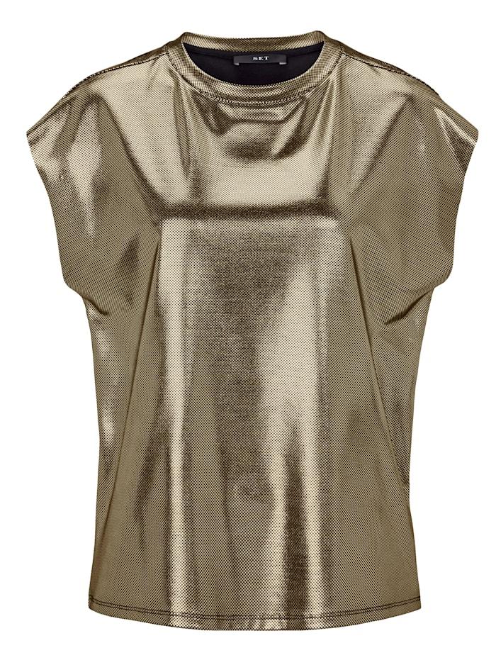 SET Shirt, Goldfarben