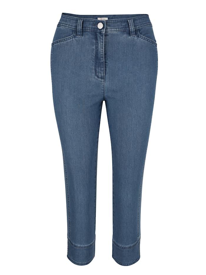 Pantalon 3/4 à structure estivale